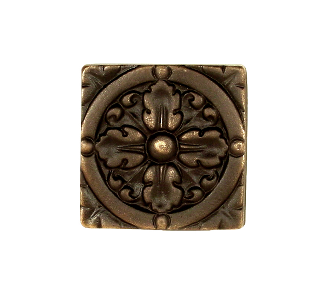 bronze tile by Saint-Gaudens