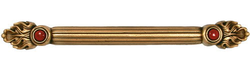 Solid metal drawer handle cabinet pull
