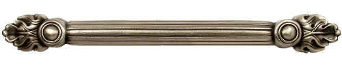 Solid bronze drawer hardware Silvertone fnish