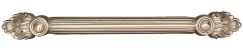 Solid bronze drawer hardware Silver Bright finish