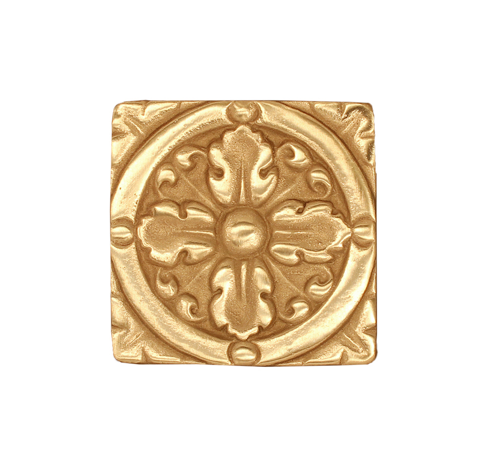 Solid bronze tile by Saint-Gaudens
