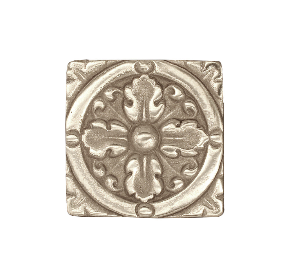 bronze tile in nickle bronze by Saint-Gaudens