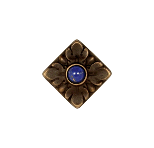 Acanthus Jeweled bronze cabinet and drawer knob