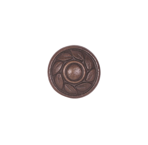 Decorative solid metal drawer knob cabinet pull Oil rubbed bronze