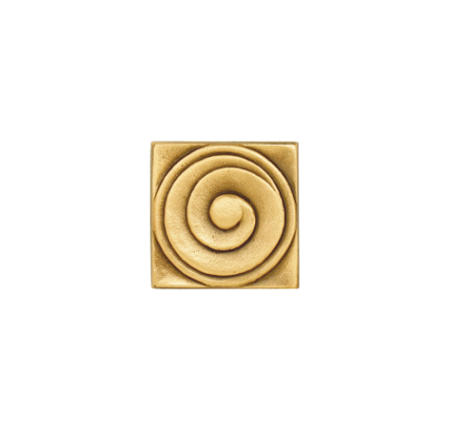 Bronze Swirl Decorative Square