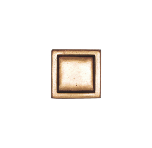 Small Square in Bronze