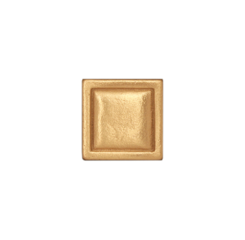 Gold square bronze tile