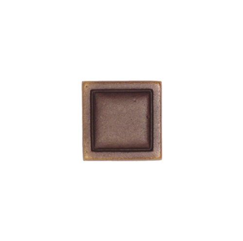 Brown square bronze tile