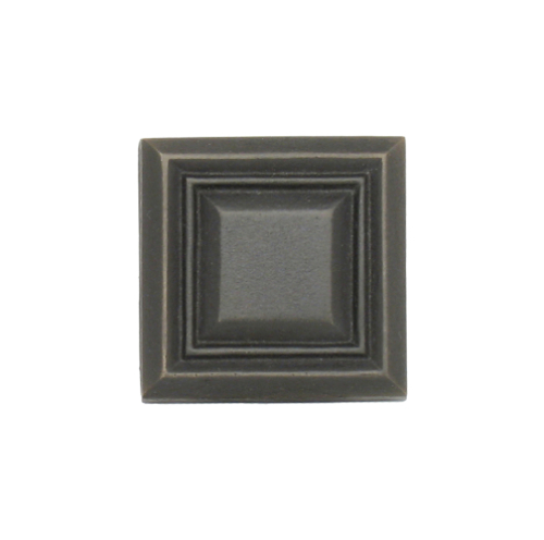 Dark bronze square tile