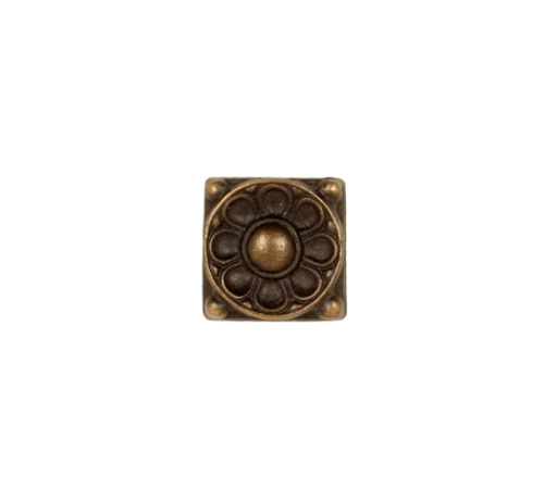 antique greek flower accent tile