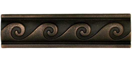 Classic Greek bronze liner trim