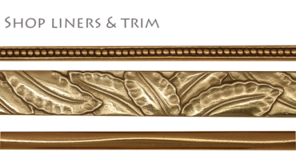 Saint Gaudens bronze liners and trim