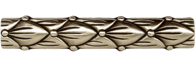 Stylish solid bronze trim